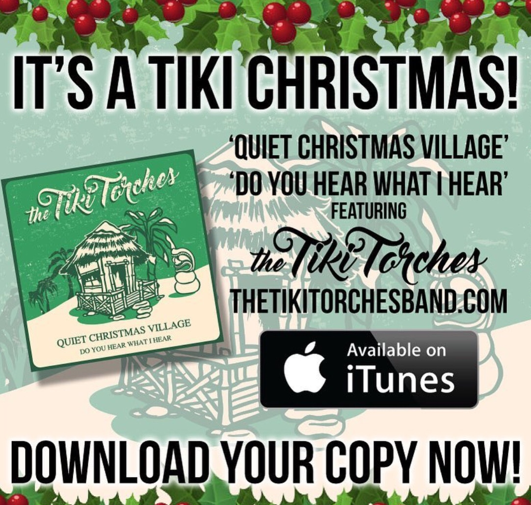 Tiki Torches Christmas Album Out Now